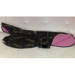Cappottino militare rosa